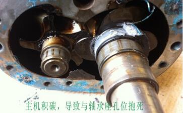空压机积碳