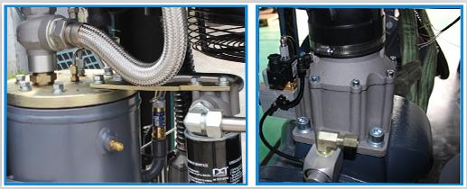 量自动调节空压机载荷;     兼顾远程控制及数据分析,多台联合控制
