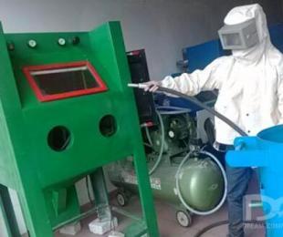 喷砂机的喷砂清理与加工