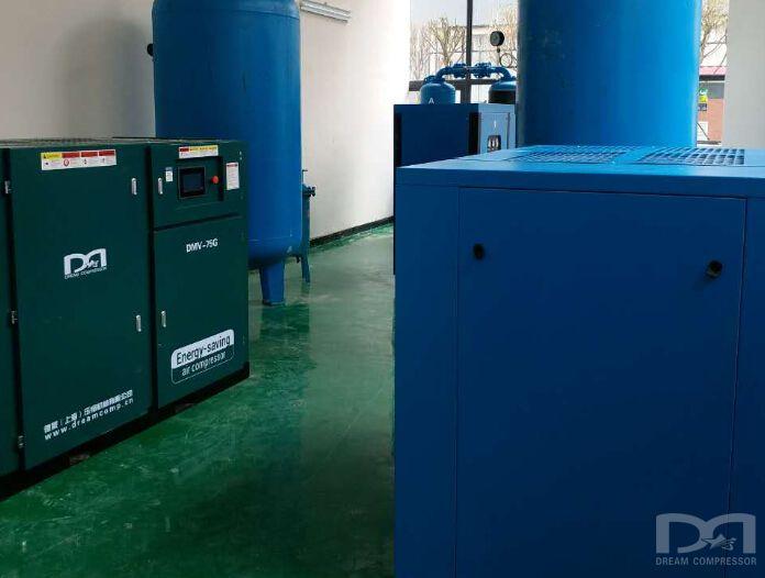 贵州某光电技术有限公司配套德蒙空压机项目