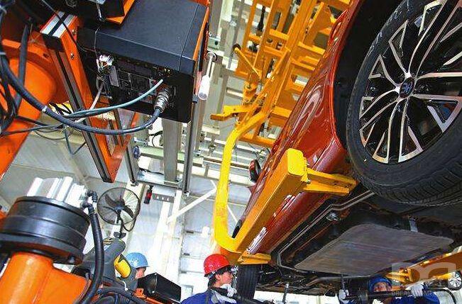 汽车行业空压机应用
